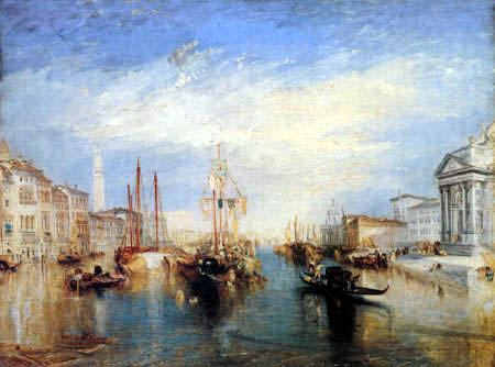 Joseph Mallord William Turner - View of Venice