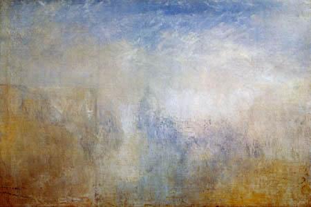 Joseph Mallord William Turner - Santa Maria della Salute, Venedig