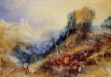 Joseph Mallord William Turner - Lausanne von Westen