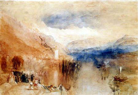 Joseph Mallord William Turner - Oberhofen am Thuner See
