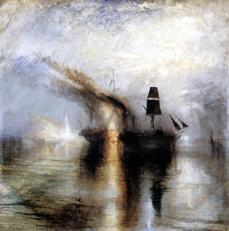 Joseph Mallord William Turner - Frieden - Bestattung auf See