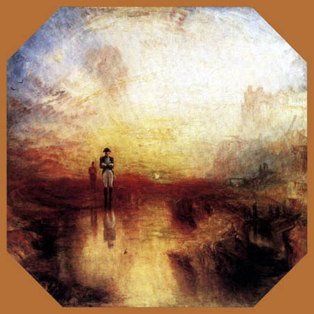 Joseph Mallord William Turner - War. The Exile and the Rock Limpet
