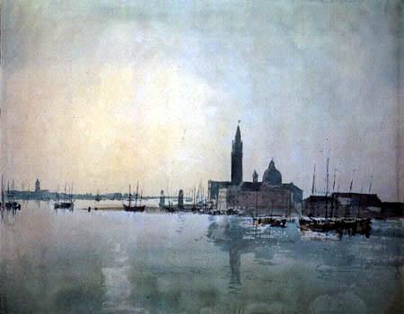 Joseph Mallord William Turner - San Giorgio Maggiore am Morgen