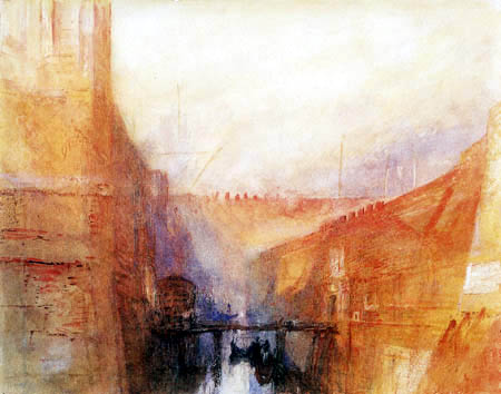 Joseph Mallord William Turner - Arsenal, Venice