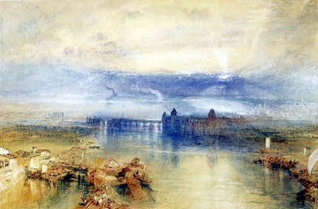 Joseph Mallord William Turner - View of Constance