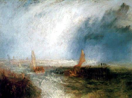 Joseph Mallord William Turner - Ostende