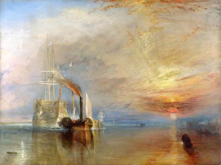 Joseph Mallord William Turner - Le Dernier Voyage du Téméraire