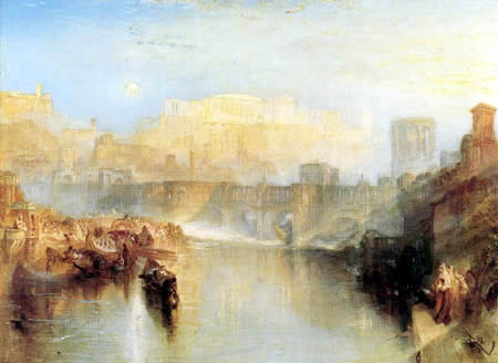 Joseph Mallord William Turner - Ancient Rome: Agrippina Landing with the Ashes of Germanicus