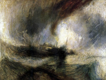Joseph Mallord William Turner - Snowstorm