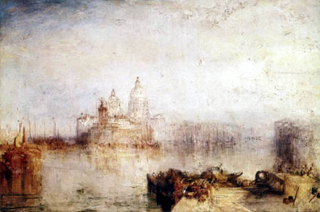 Joseph Mallord William Turner - Dogana and Madonna della Salute, Venice
