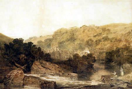 Joseph Mallord William Turner - Brinkburn priory, Northumberland
