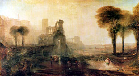 Joseph Mallord William Turner - Caligula´s Palace and Bridge