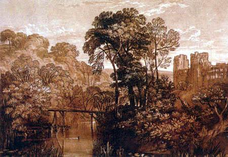 Joseph Mallord William Turner - Castle of Berry Pomeroy