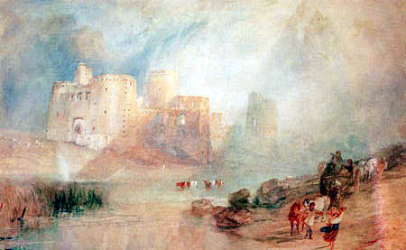 Joseph Mallord William Turner - Castle of Kidwelly, Wales