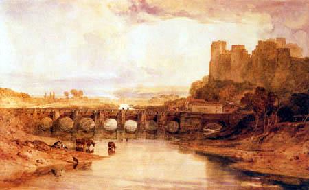 Joseph Mallord William Turner - Schloß von Ludlow