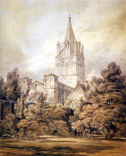 Joseph Mallord William Turner - Christchurch, Oxford