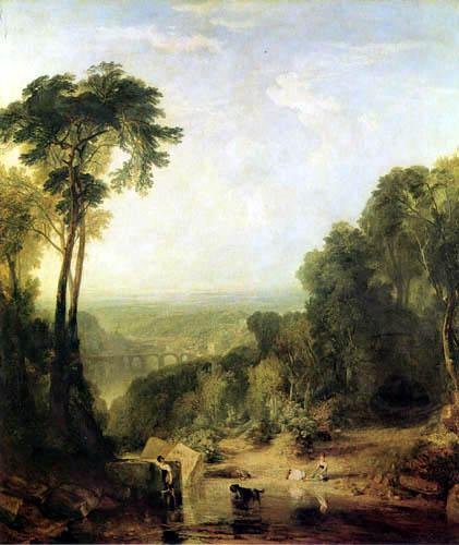 Joseph Mallord William Turner - Überqueren des Baches