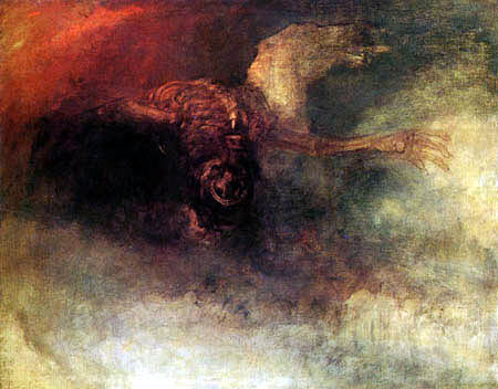 Joseph Mallord William Turner - The Death of a Horse