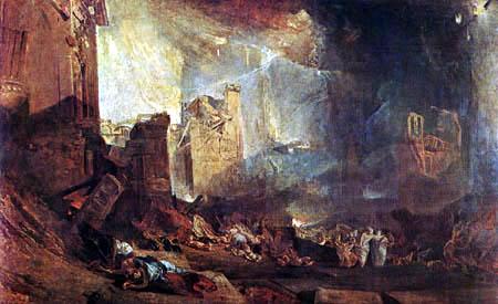 Joseph Mallord William Turner - The destruction of Sodom