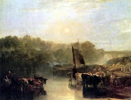 Joseph Mallord William Turner - Dorchester Mead, Oxfordshire