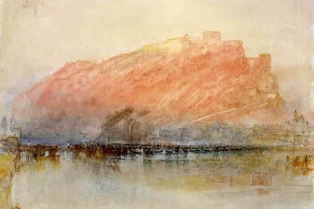 Joseph Mallord William Turner - Ehrenbreitstein, Detail