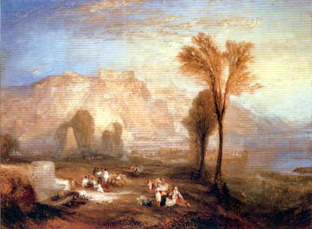 Joseph Mallord William Turner - Ehrenbreitstein und das Grab von Marceau