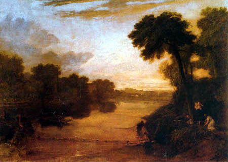 Joseph Mallord William Turner - Die Themse bei Windsor