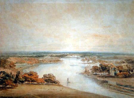 Joseph Mallord William Turner - El Támesis desde Richmond Hill