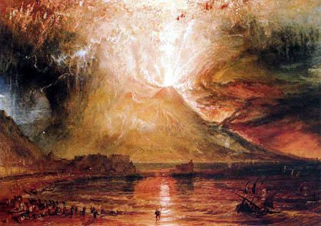 Joseph Mallord William Turner - The Vesuvius in eruption