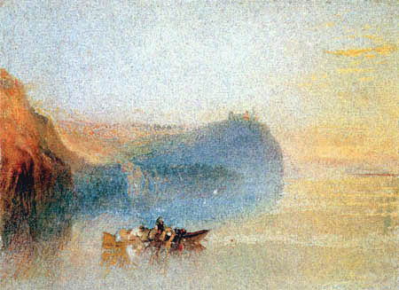Joseph Mallord William Turner - Auf der Loire