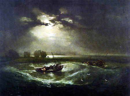 Joseph Mallord William Turner - Fischerboot auf See
