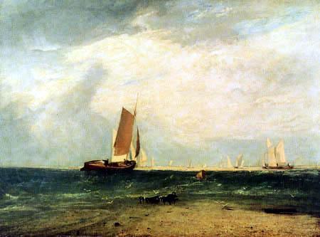 Joseph Mallord William Turner - Fischerboot bei Flut