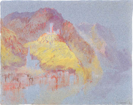 Joseph Mallord William Turner - Klotten and Castle Coraidelstein