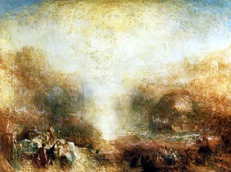 Joseph Mallord William Turner - Mercury sent to Admonish Aeneas