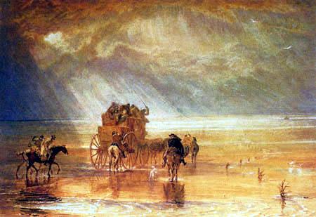 Joseph Mallord William Turner - Beach of Lancaster