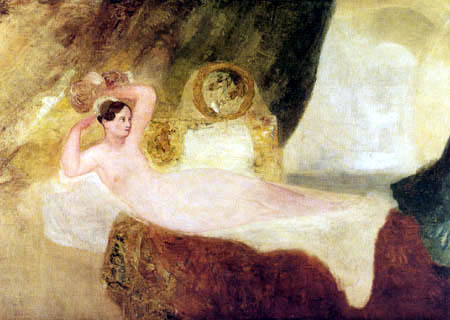 Joseph Mallord William Turner - Reclining Venus