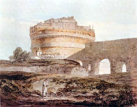 Joseph Mallord William Turner - Rom, Schloß von St. Angelo