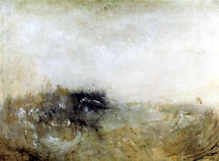 Joseph Mallord William Turner - Rauhe See