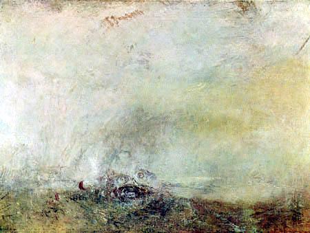 Joseph Mallord William Turner - Sunrise with Sea Monsters