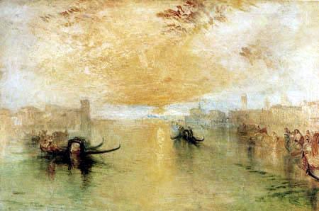 Joseph Mallord William Turner - St Benedetto Looking towards Fusina