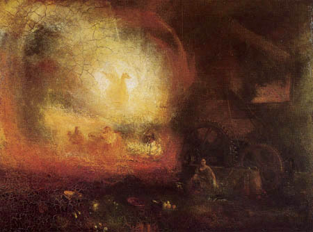Joseph Mallord William Turner - The Hero of a hundred Fights
