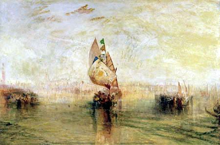 Joseph Mallord William Turner - The Sun of Venice going to the Sea