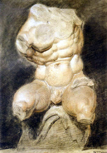 Joseph Mallord William Turner - Torso vom Belvedere