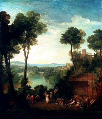 Joseph Mallord William Turner - Merkurius und Herse
