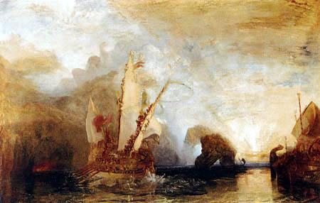 Joseph Mallord William Turner - Ulysses deriding Polyphemus, Homer´s Odyssey