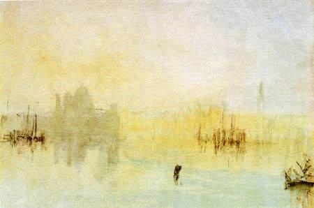 Joseph Mallord William Turner - Santa Maria della Salute, Venice