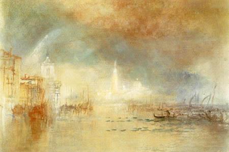Joseph Mallord William Turner - Blick auf Venedig von der Giudecca