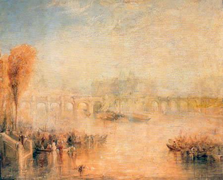 Joseph Mallord William Turner - View of the Pont Neuf, Paris