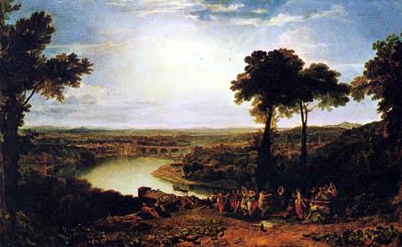 Joseph Mallord William Turner - Weinlesefest in Mâcon