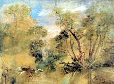 Joseph Mallord William Turner - Weiden an einem Bach